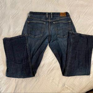 Lucky Brand Womens Button Fly Boot Cut Jeans sz 31